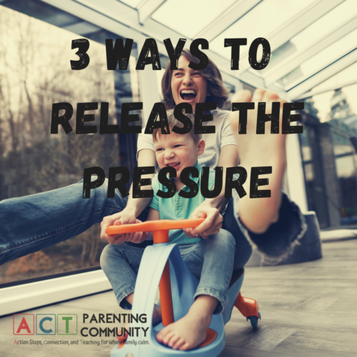 3 ways to release the pressure
