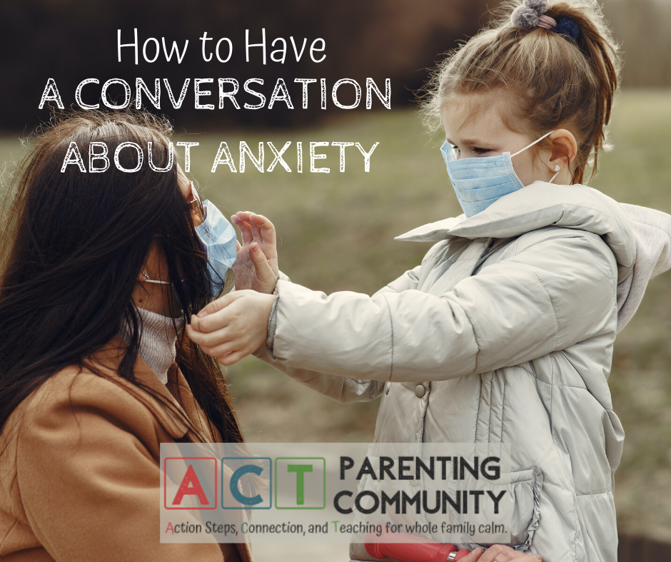 How to have a conversation about anxiety