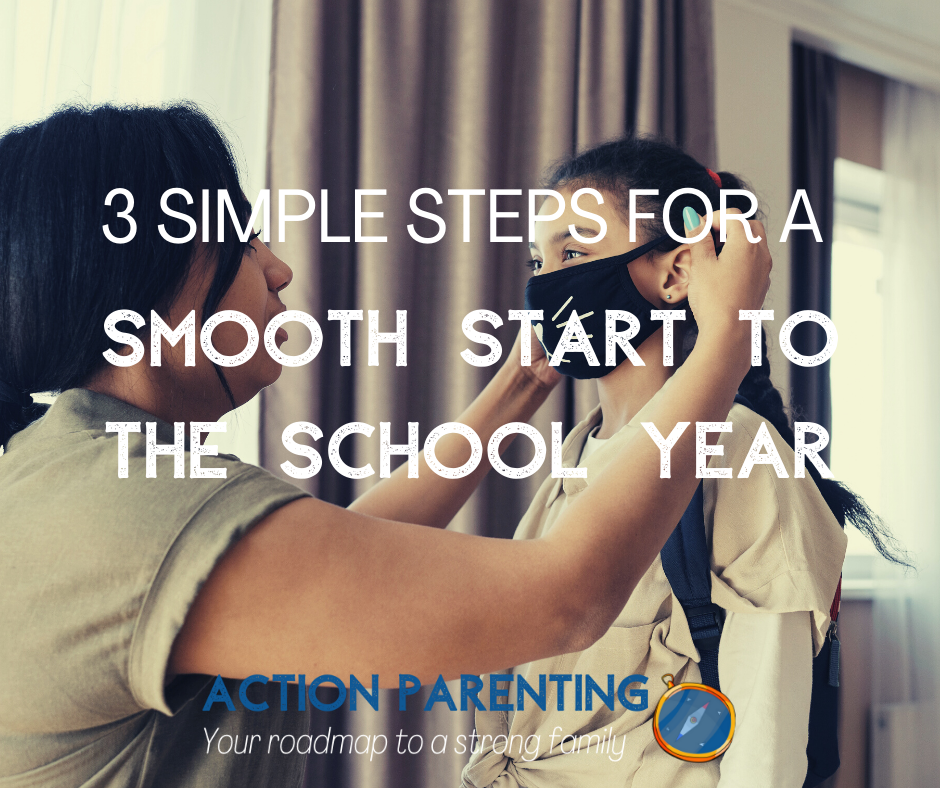 3 simple steps to a smooth start to the school year