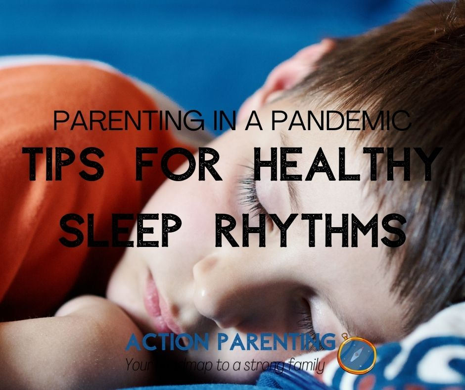 Tips for healthy sleep patterns