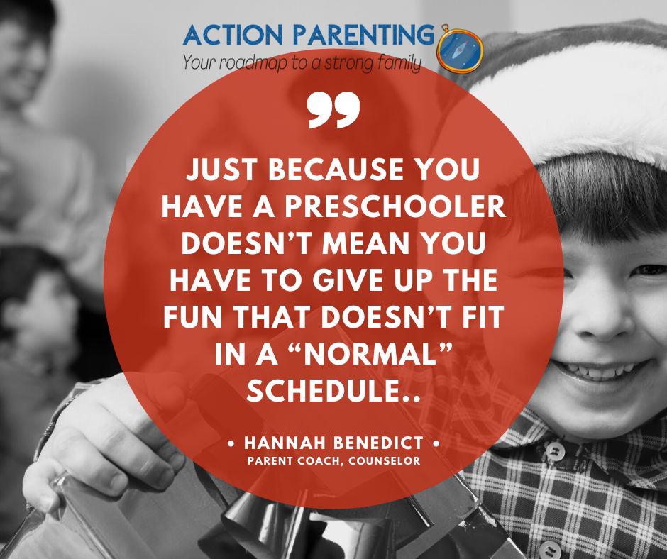 You don't have to give up normal just because you have a preschooler
