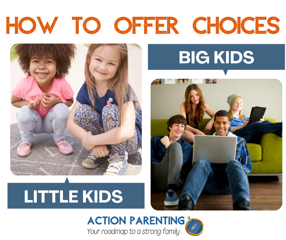 Parenting Tips for Offering Choices