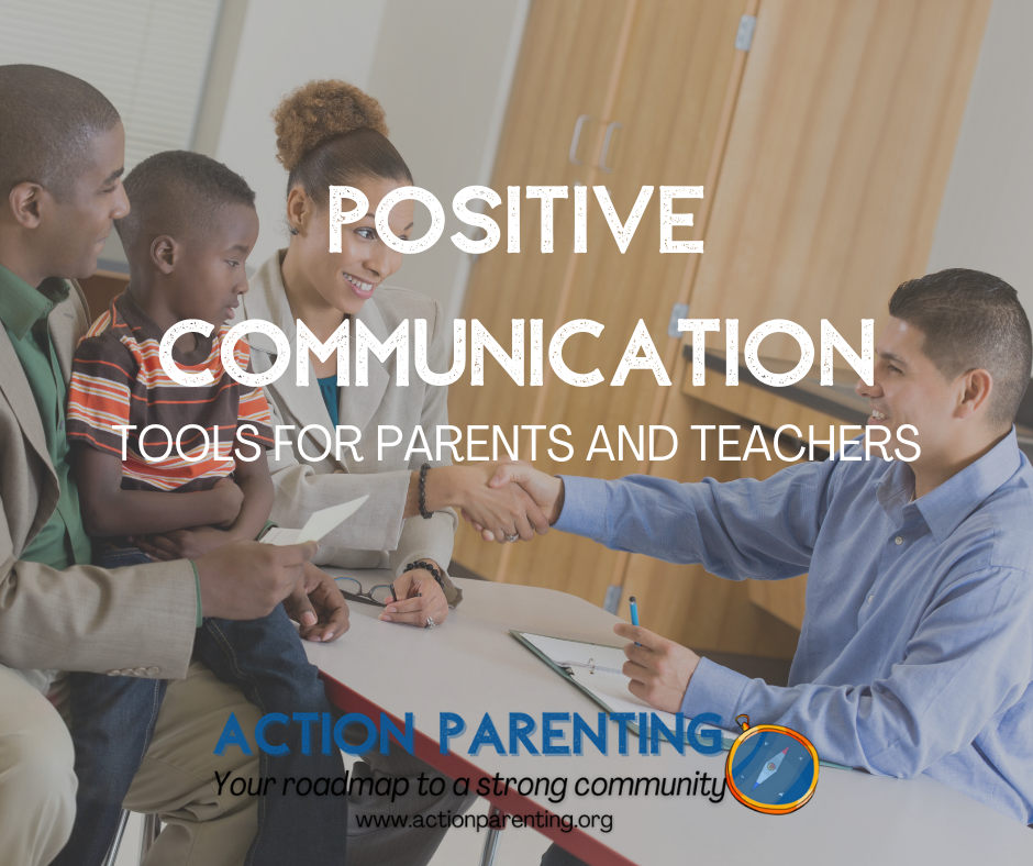 Positive Communication Tools for Parents and Teachers